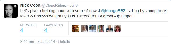 Nick Cook Twitter