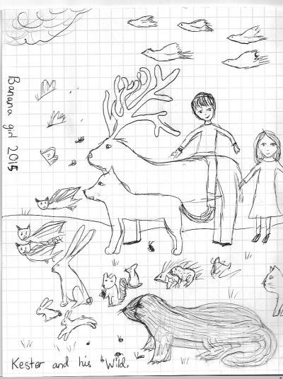 Last Wild drawing