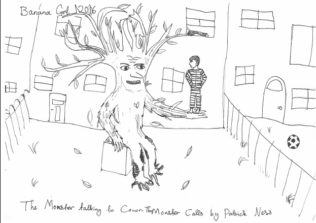 Monster Calls drawing